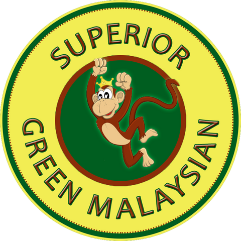 Superior Green Malaysian Powder