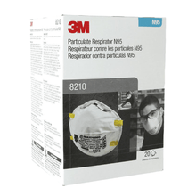 Load image into Gallery viewer, 3M™ Cupped Particulate Respirator 8210 (20 PCS)