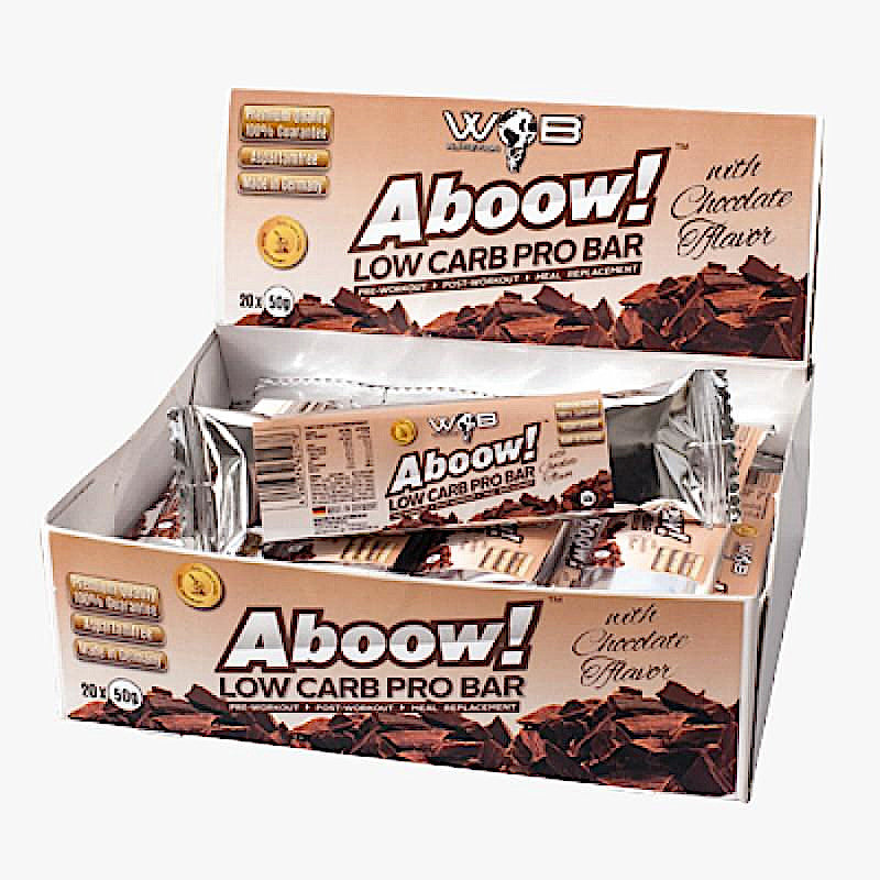 ABOOW! LOW CARB PRO BAR SCHOKOLADE