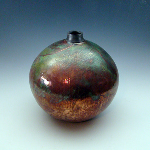 Round Vessel with small collar neck
