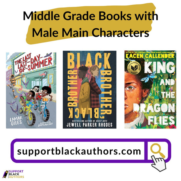 Middle Grade Books with Male Main Characters