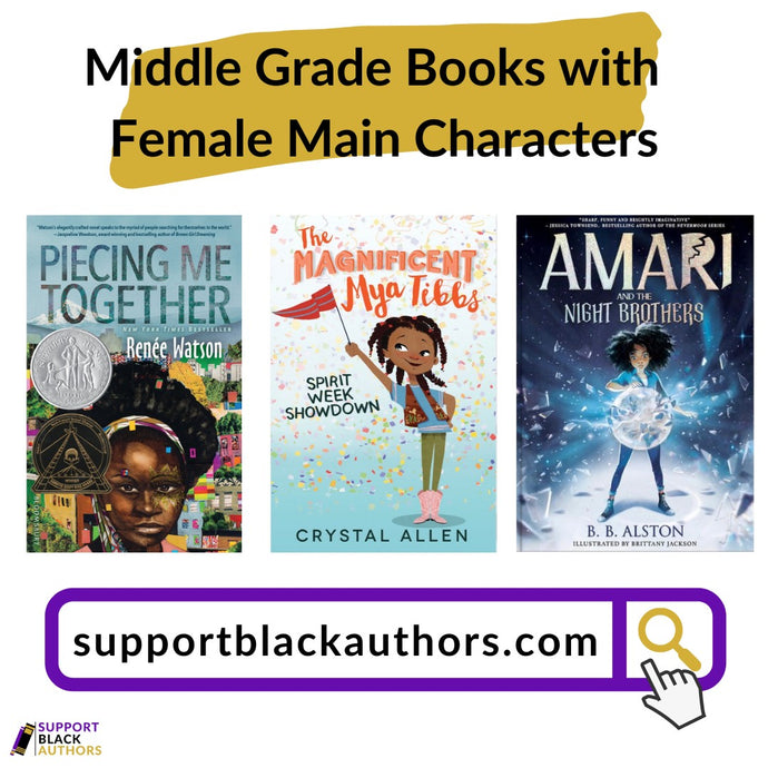 Middle Grade Books with Female Main Characters