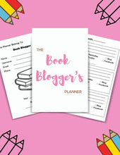 Load image into Gallery viewer, The Mini Book Blogger's Planner