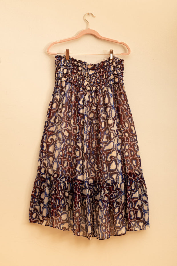 Falda Midi de Animal Print con Good Karma