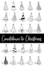 Load image into Gallery viewer, Countdown to Christmas Advent
