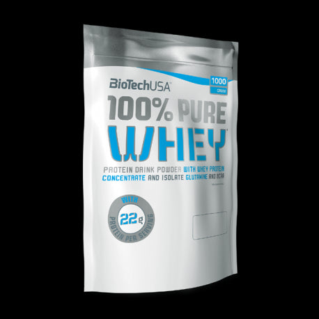 100% Pure Whey 1000g - Biotech USA - fitbex store