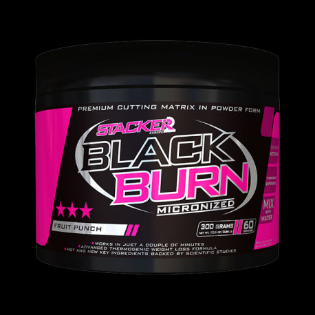 Black Burn Micronized - Stacker 2 - fitbex store