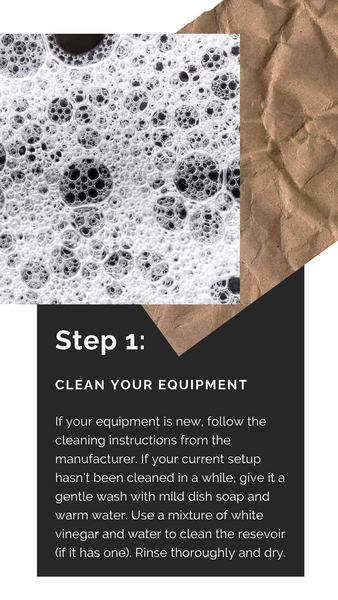 Brew Tips from Red Eye Bistro. Tip #1: Clean Your Equipment