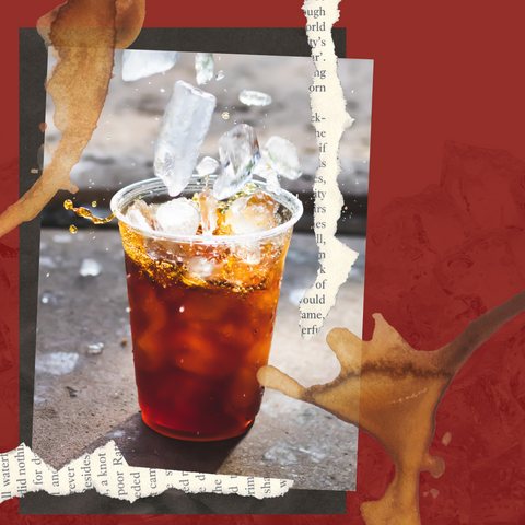 Iced summer coffee from Red Eye Bistro
