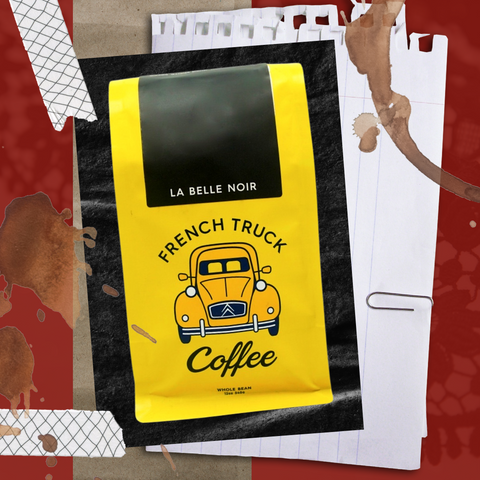 La Belle Noir coffee bag, roasted by French Truck Coffee in Memphis, Tennessee