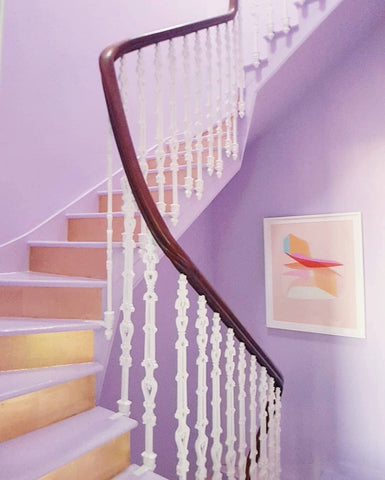 Lilac Staircase