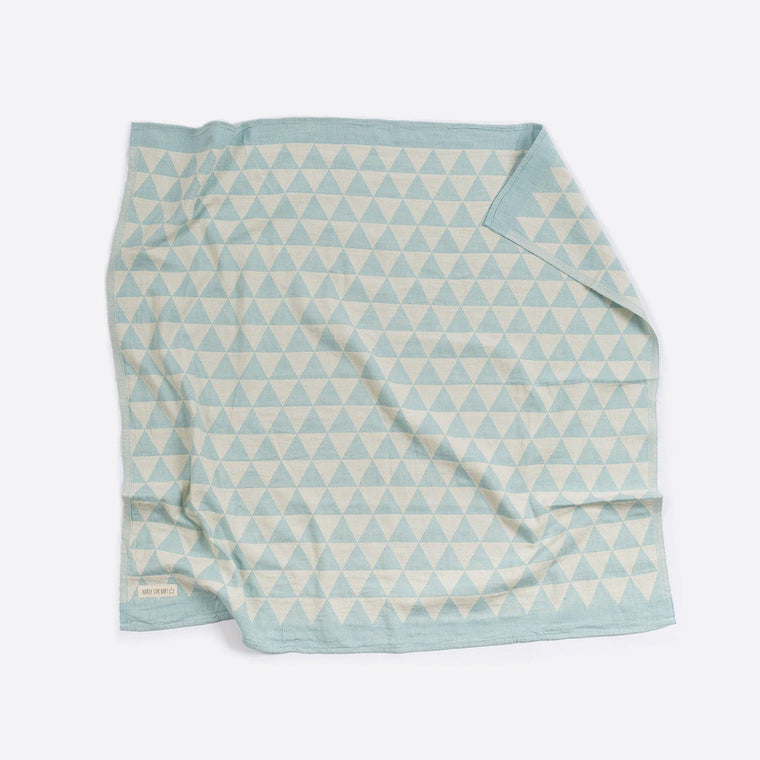 Cotton Cot Blanket : Hills Mint