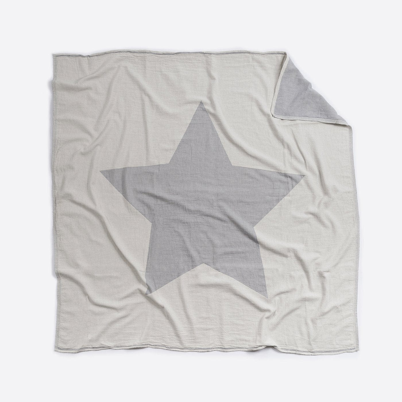 Cotton Blanket - Cot / Single Bed : Star Blanket North Star Baby