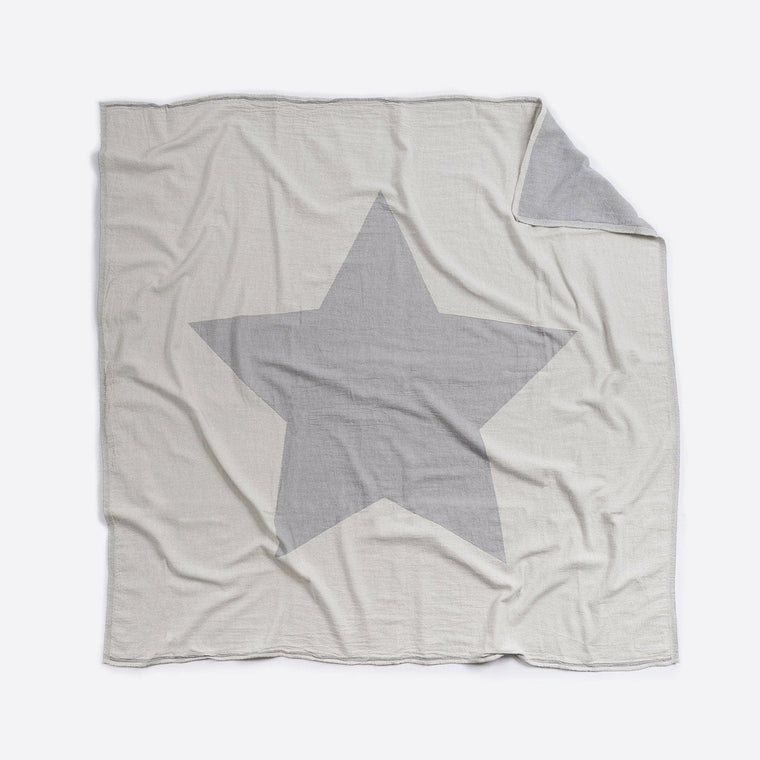 Cotton Blanket - Cot / Single Bed : Star