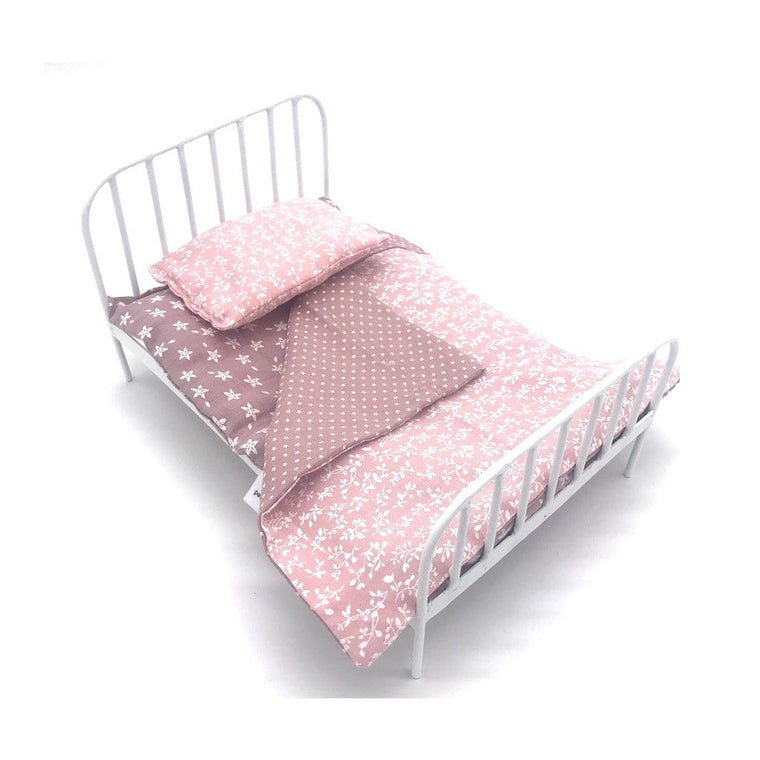 Dolls Bed and Bedding Set : Jemima