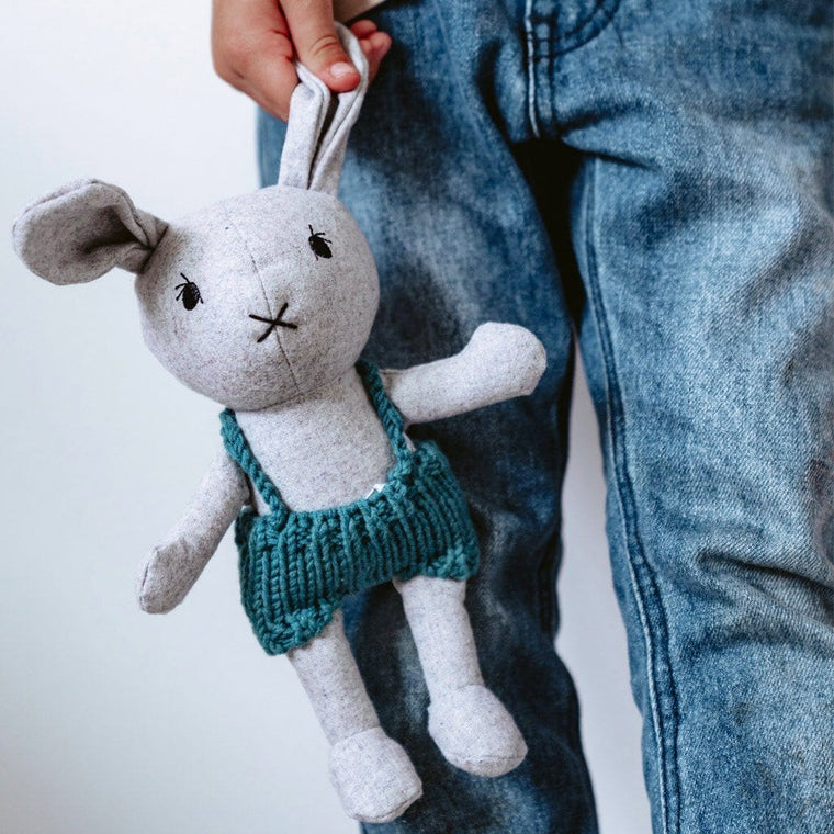 Lionel the Rabbit - felted wool toy