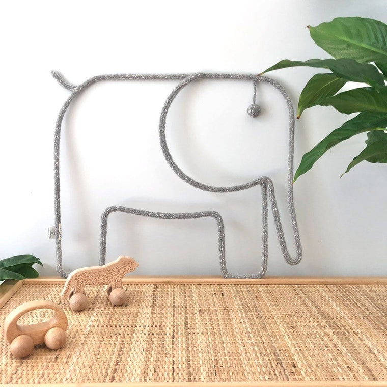 Animal Mobile / Wall Hanging : Elephant