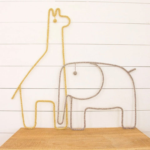 Animal Mobile / Wall Hanging : Giraffe Wallhangings Blabla