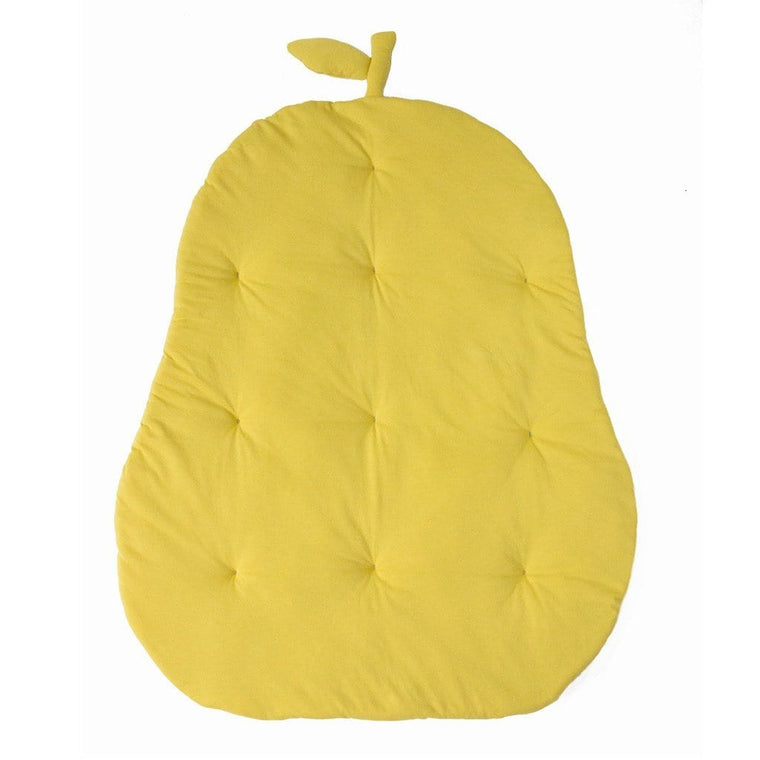 Jersey Cotton Pear Playmat : Citron