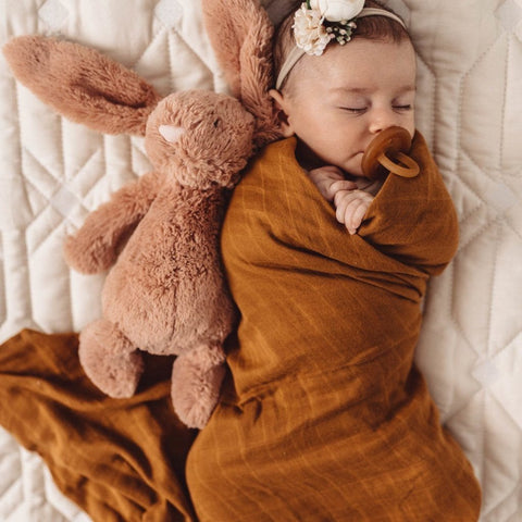Muslin Wrap : Bronze Wraps Snuggle Hunny Kids
