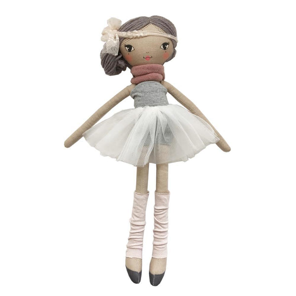 Lola doll ballet - coffee/heather