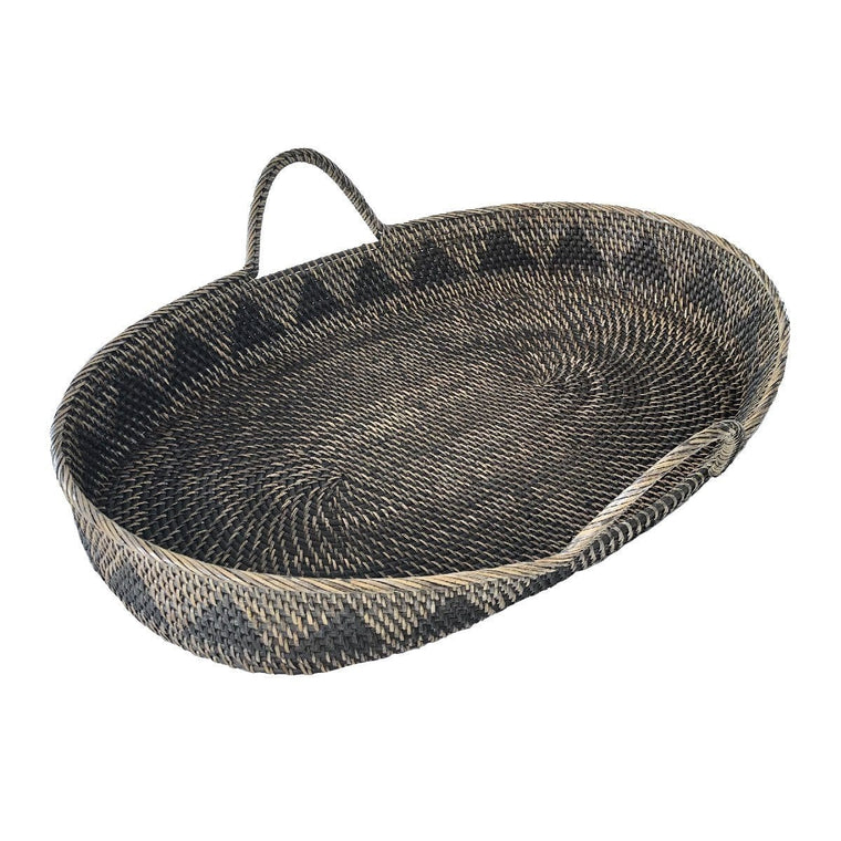 Rattan Changing Basket : Natural Onika design
