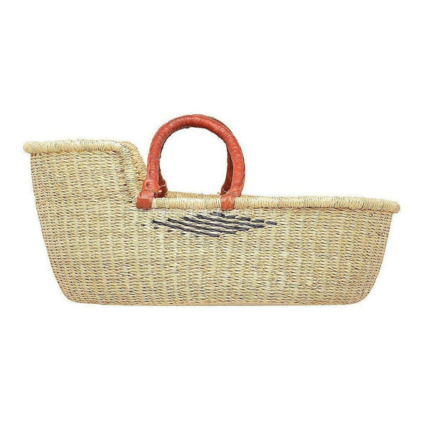Dolls Moses Basket - Diamond (Due back early August - Pre-order now!) Nursery Ecosprout Tan