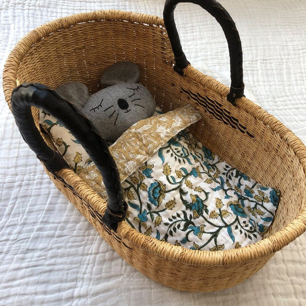 Dolls Moses Basket - Diamond Nursery Ecosprout