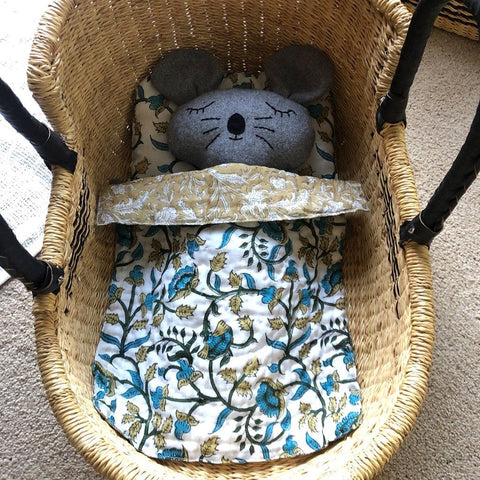 Dolls Moses Basket - Diamond