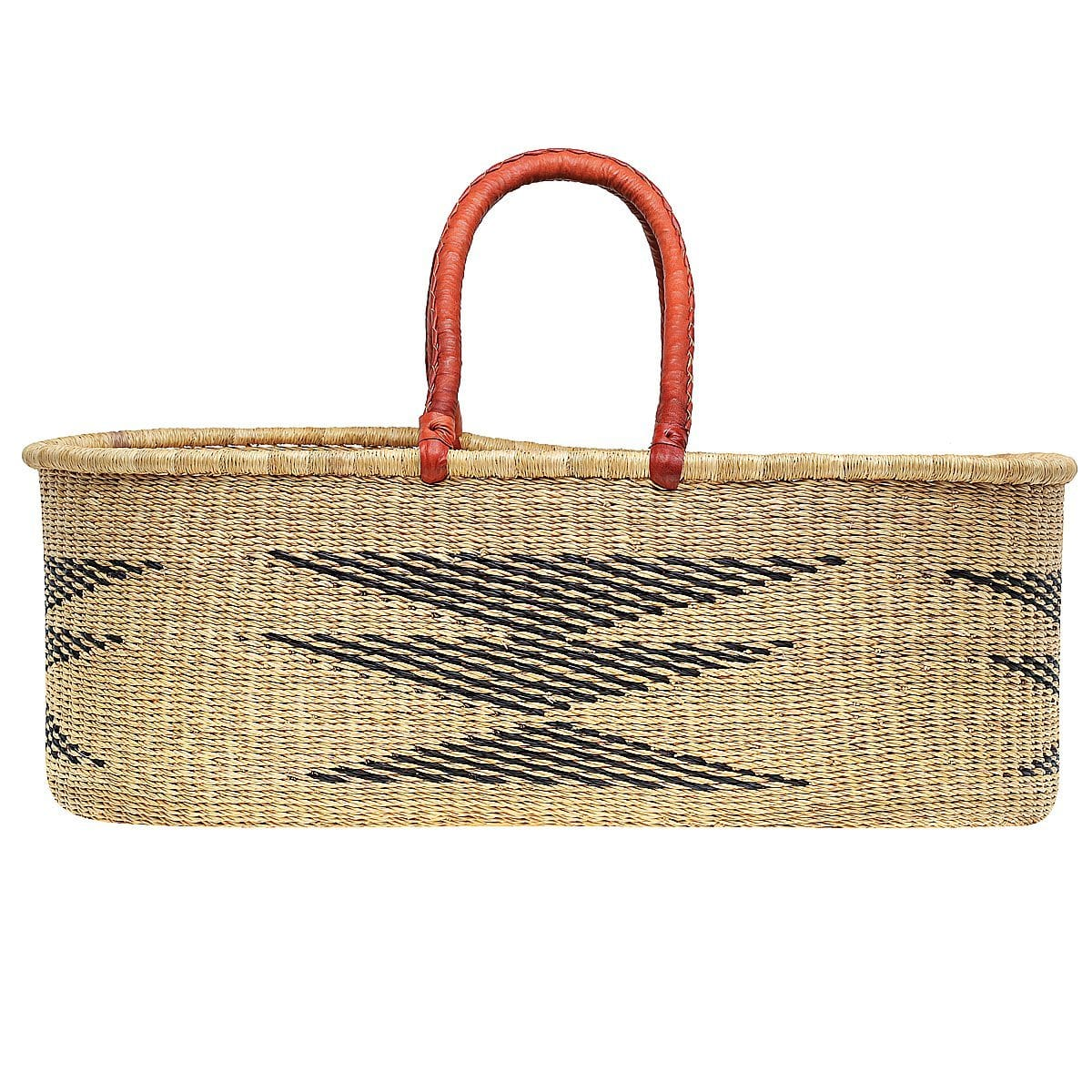 Traditional Diamond African Moses Basket - Daiki