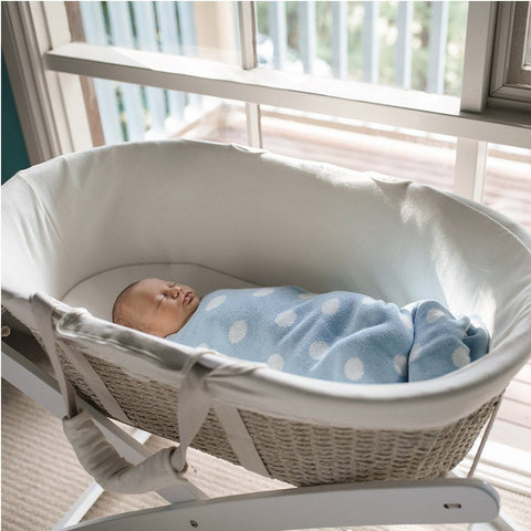 Moses Basket : Cream Nursery Ecosprout