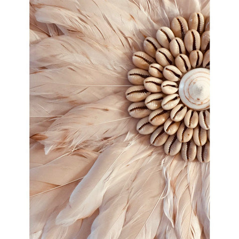 Feather Wall Art 35cm : Antique Rose Wallhangings Ecosprout