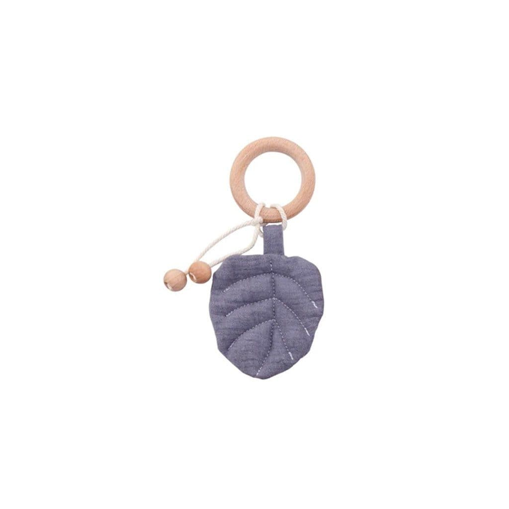 Leaf Playgym Toy and Teether: Grey Toys Ecosprout
