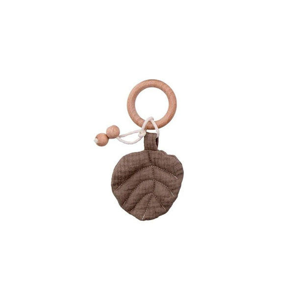 Leaf Playgym Toy and Teether: Mocha Toys Ecosprout