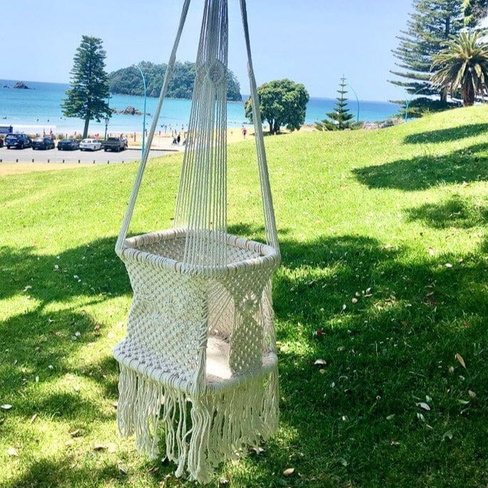 Crochet Hanging Baby/Toddler Swing (Out of Stock, due June) Swings Ecosprout