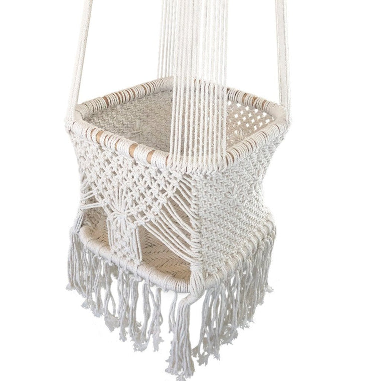 Crochet Hanging Baby / Toddler Swing