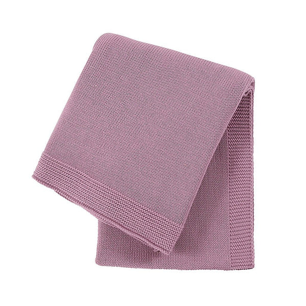 Organic Cotton Sweet Dreams Cot Blanket : Rose Blanket Ecosprout