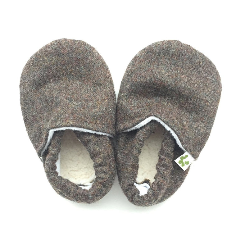 Baby Booties - Grandad Suit