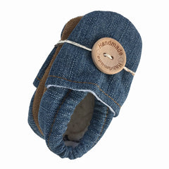 Baby Booties - Vintage Denim
