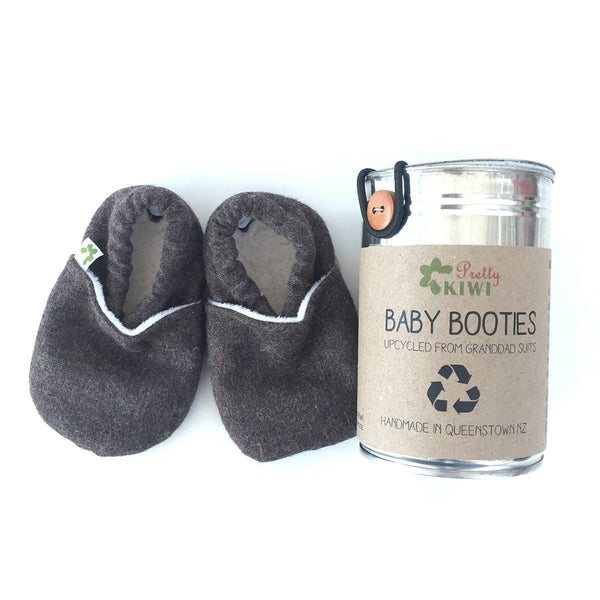 Pretty Kiwi Booties - Grandad Suit - Ecosprout - New Zealand
