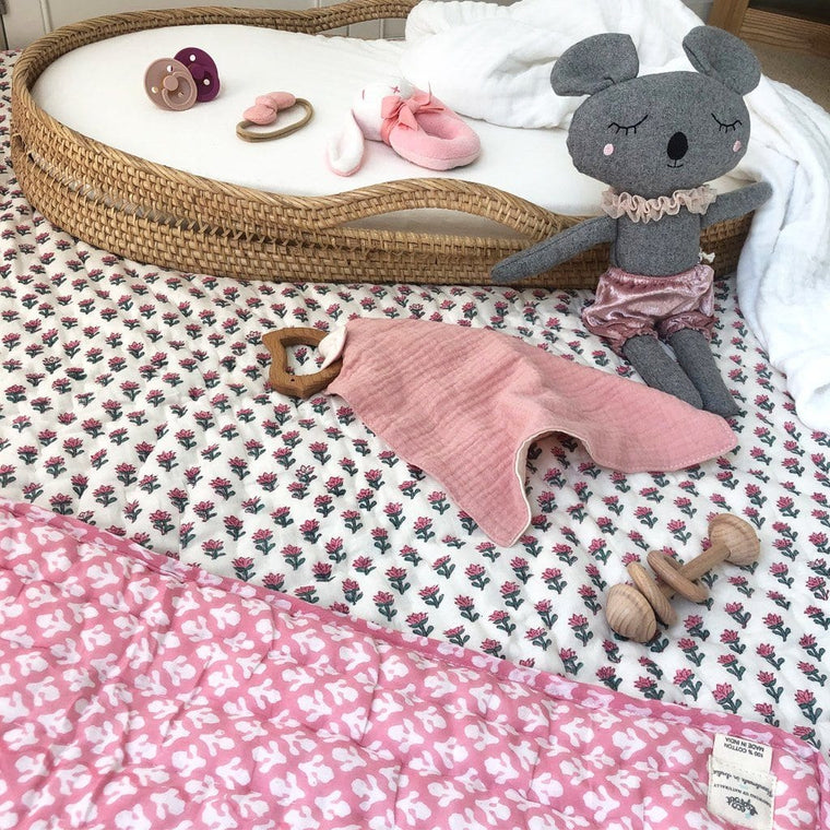 Reversible Playmat : Indian Rose