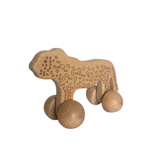 Montessori Toy - Wooden Cheetah Toys Ecosprout