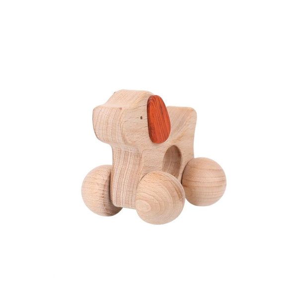 Montessori Toy - Wooden Dog Toys Ecosprout