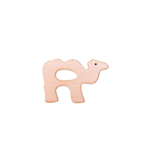 Wooden Animal Teether : Camel Teether Ecosprout