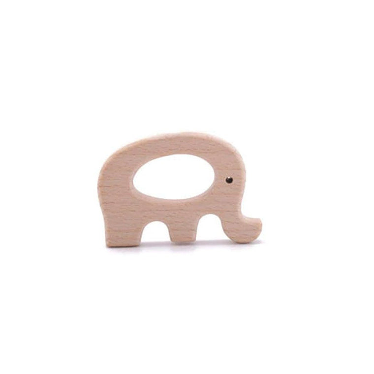 Wooden Playgym Toy and Teether: Elephant