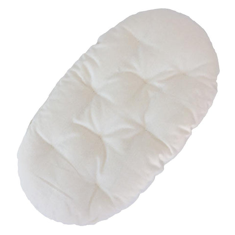 Organic Wool Bassinet Mattress : Large