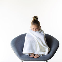 Ecosprout Merino Cot Blanket - Natural - Ecosprout - New Zealand