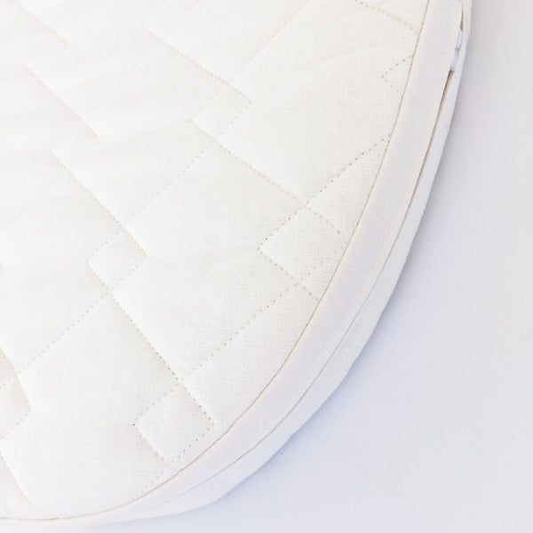 Moses Basket Mattress: Organic Wool Latex Innature