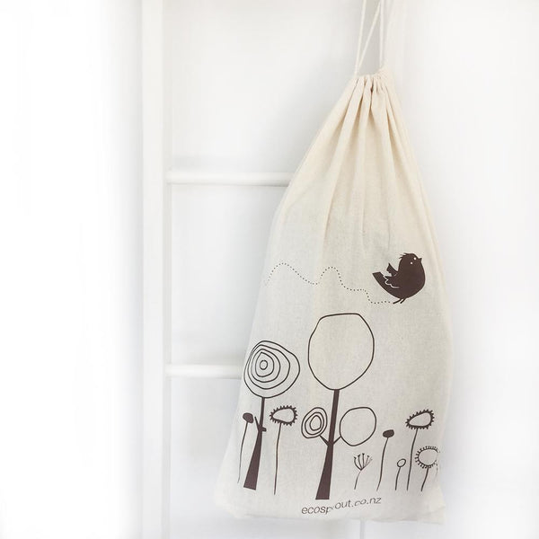 Changing Basket : Soft Dove Grey