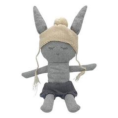 Martha Rabbit - handmade felted wool toy